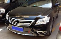 Car Styling 1 Pcs Stainless Steel Chrome Front Grille Front And Rear Decorative 2009 2011 For