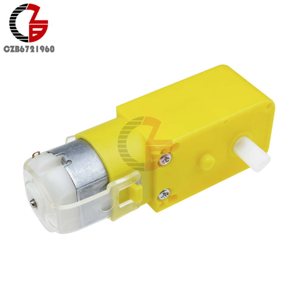 Double Shaft Dc Gear Motor Dc 3v 12v 1 48 Dual Shaft Dc