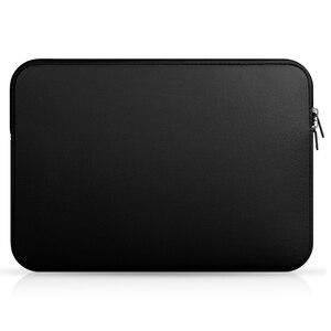 Image 2 - 노트북 슬리브 케이스 11/12/13/14/15 인치 내성 네오프렌 노트북 가방 노트북 컴퓨터 포켓 케이스 태블릿 서류 가방 운반 가방