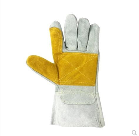 Electric Welding Gloves Wear - Resistant, High - Temperature - Resistant And Thickening Welding Labor Protection Welder Gloves