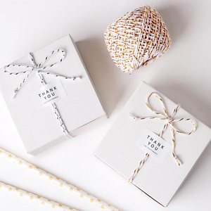 20m 2colors Natural Paper Rope Gift Box String Rope Floral Craft Wedding Birthday Party Tags Wrap Decoration Party Supplies(China)