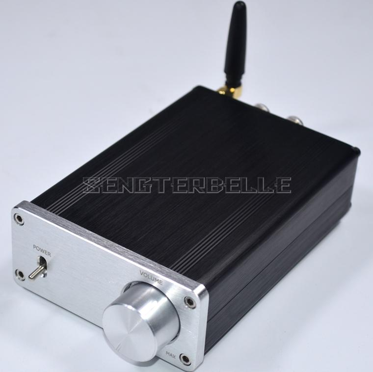 Finished Q1 Bluetooth TDA7377 Mini HiFi Power Amplifier Stereo 20W+20W Amplifier New все цены
