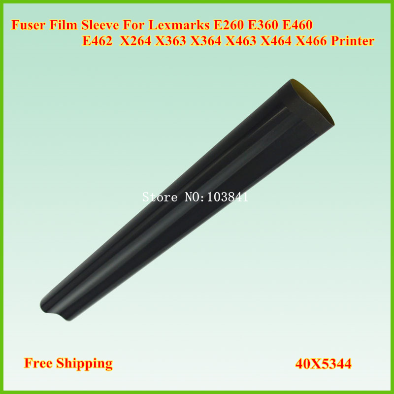 2PCS Compatible A Grade Fuser Film Sleeve for Lexmark E260 E360 E460 E462 X264 X363 X364 X463 X464 X466 Printer Fixing telfon