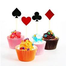 Вечерние принадлежности для украшения игральных карт, одноразовые столовые приборы, набор баннеров, воздушных шаров для взрослых, игрушки для покера, вечерние украшения