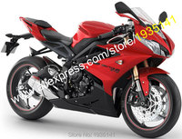 Hot Sales,Accessories For Triumph Daytona 675 Parts 2013 2014 2015 Daytona675 13 15 Red Black Aftermarket Motorcycle Fairing Kit