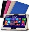 """Для HP Elitepad 900 G1 1000 G2 10.1 """"Tablet Шелковый Pattern Магнит PU Кожаный Чехол Ультра Тонкий Откидная Крышка Чехол + стилус"""