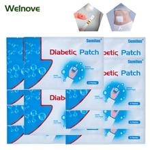 лучшая цена 42pcs=7bags Diabetic Patch Diabetes Herbal Diabetes Cure Lower Blood Glucose Treatment Sugar Balance Plaster D1272
