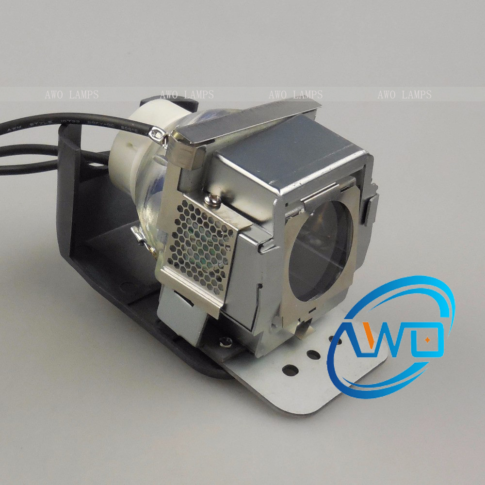 AWO Compatible Projector Lamp Module RLC030 RLC-030 for VIEWSONIC PJ503D PJ513DB with Housing awo projector lamp sp lamp 005 compatible module for infocus lp240 proxima dp2000s ask c40 150 day warranty