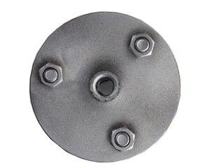 Image 4 - 5 بوصة 125 مللي متر عجلة مطرقة بوش M14 M16 5/8  11 التخصيص أكثر من ذلك بكثير حجم عجلة سبيكة لالجرانيت سطح الليتشي الرخام