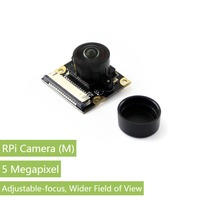 Waveshare Raspberry Pi Camera Module, Fisheye Lens, Wider Field of View