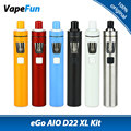 Original joyetech ego kit aio d22 xl 4 ml tank & 2300 mah embutido Bateria Ego Aio XL All-in-one Starter Kit Vaporizador Vs Ego Aio
