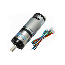 Diameter 36mm 36GP-555 Planet Hall with code wheel encoder gear motor 6-24V balance smart car robot camera rocker