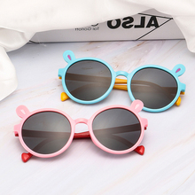 XIWANG New Kind Of Sunglasses For Lovely Boys And Girls Protect Eyes Colorful Rabbit-Shaped ChildrenS Eyeglasses