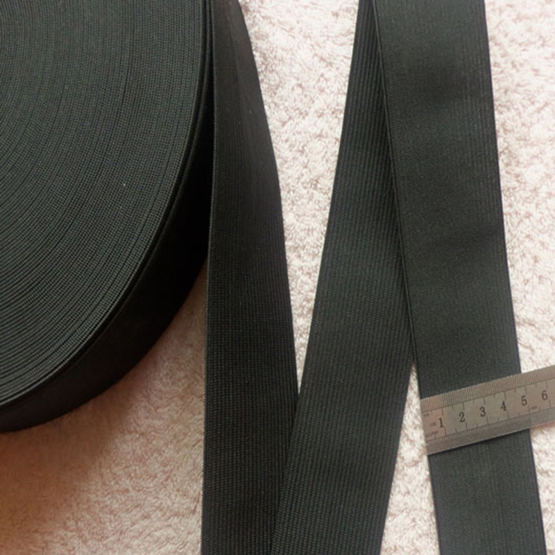 5cm* 1M Latex Thread Webbing Ribbon Bias Binding Tapes