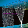 3M*3M 300LED Icicle Light String Fairy Curtain Wedding Garlands Strip Lights Outdoor Home Party Christmas Xmas Decoration