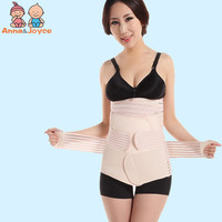 Postpartum Abdomen with Three Pieces Girdle for Pregnant Woman Maternal Restraint Zone Monthly Articles Caesarean Section