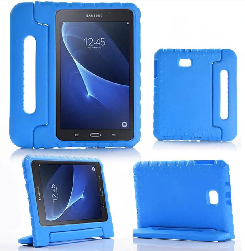 For Samsung Galaxy Tab A 10.1 Kids Case EVA Foam Shockproof Handle Kids Case Cover for Samsung Tab A 10.1 Inch SM-T580 / SM-T585 for samsung galaxy tab 4 10 1 t530 case tab 3 10 1 inch p5200 tablet kids foam back case handle stand cover shockproof