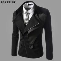 2017 Arrival Casual Blazer Men Blazer Masculino Jaqueta Denim Blazer Jacket Men Suit Ceket Vest Casaco