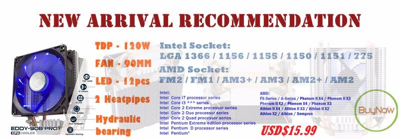 ALSEYE a-100L Fan speed controller 6 channels computer fan
