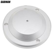 GADINAN High Quality Metal Highly Sensitivity Sound Audio CCTV Microphone Monitor Mic Head UFO-type for CCTV Camera System