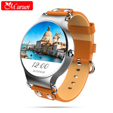 M.uruoi Smart Watch MTK6580 Quad Core Waterproof Heart Rate Monitor Remote Control Camera Message Push Smartwatch IOS Android