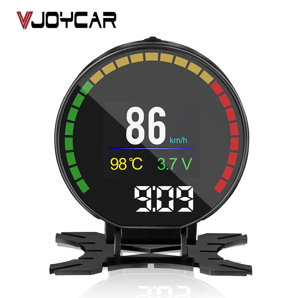 OBD METER OBD2 HUD Digital Speed P15 Water Temperature Fuel Consumption Voltage Gauge Speedometer Mileage Display