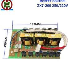 ZX7-200/250(220 V)-средняя печатная плата с MOSFET-контролируемый инверторный Сварочный аппарат(22:4 трансформатора