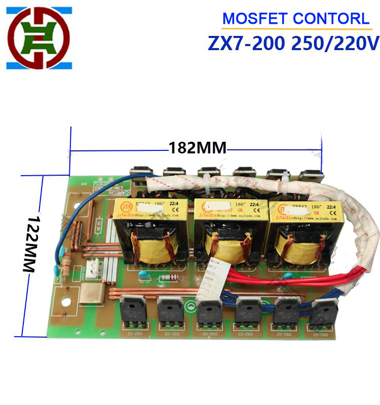 Air Conditioner Parts Control Panel Zx7 250 Igbt Inverter Welder 100% Guarantee Air Conditioning Appliance Parts