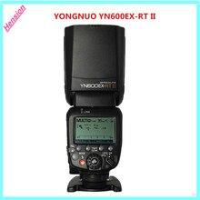 2017 nuevo yongnuo yn600ex-rt ii 2.4g wireless hss 1/8000 s maestro ttl speedlite de destello para canon cámara como 600ex-rt yn600ex rt II
