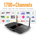 Europa Cuenta IPTV Top Box Árabe Gratis Italia Francés REINO UNIDO EX-YU Suscripción Android Tv IPTV Canales Sky Sport Canal caliente caja