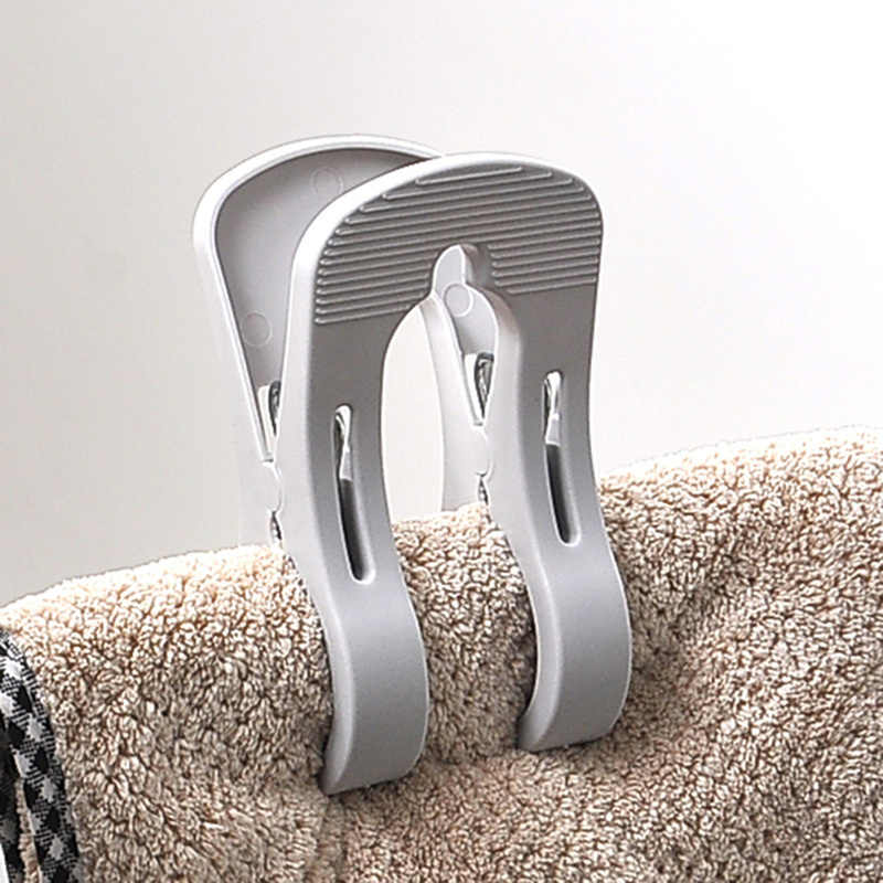 新 1 個大型洗濯ばさみの強力な洗濯クリッププラスチックコートタオルキルト防風服ペグ家庭用洗濯乾燥ツール