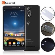 Новый Gooweel M3 Смартфон 6.0 дюймов IPS экран MTK6580 quad core мобильный телефон 8MP + 5-МП КАМЕРОЙ GPS 1 ГБ RAM 8 ГБ ROM 3 Г Сотовый телефон