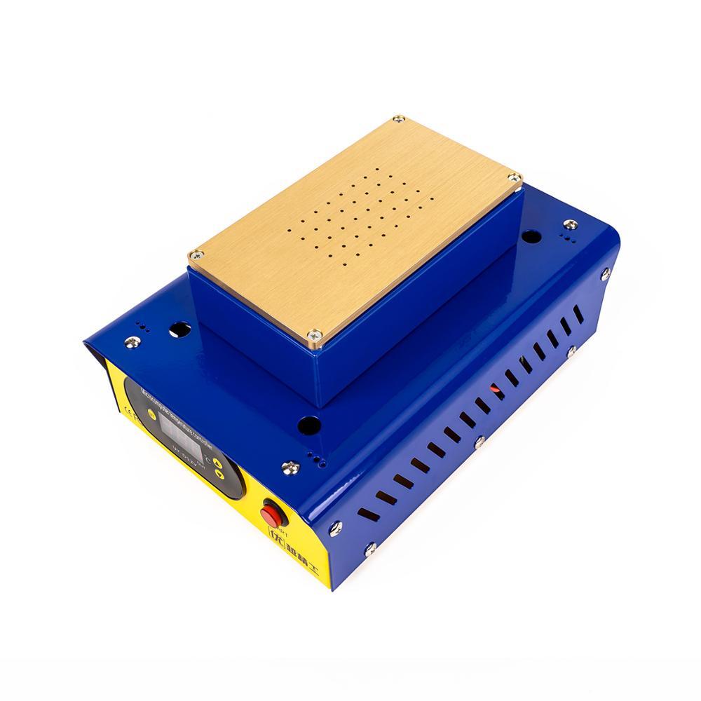 Купить с кэшбэком UYUE 948T New Model 7-inch Preheating Separator increase in height LCD Display Built-in Vacuum Pump for mobile screen separation