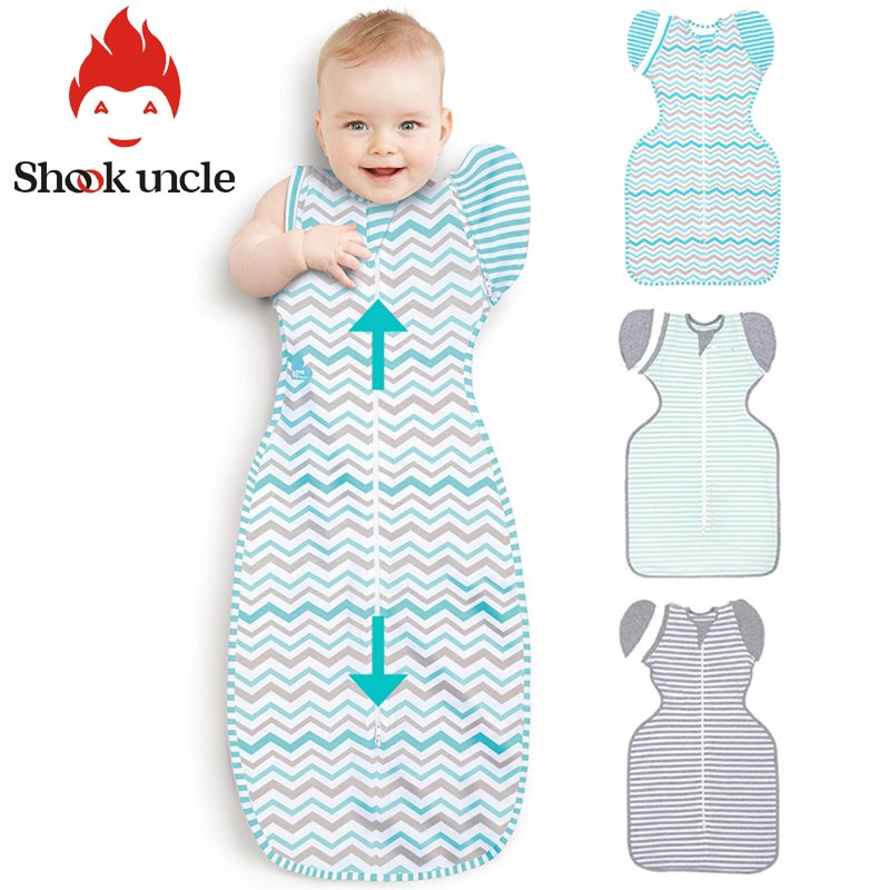 6-12M Newborn Baby Sleeping Bag Cotton Solid Zipper Sleep sack Wrap Quilt for Newborn Swaddle Blanket Anti-fright Baby swaddling6-12M Newborn Baby Sleeping Bag Cotton Solid Zipper Sleep sack Wrap Quilt for Newborn Swaddle Blanket Anti-fright Baby swaddling