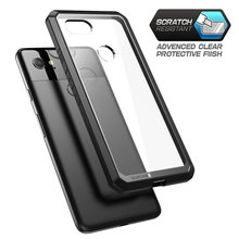 SUPCASE For Google Pixel 2 XL Case (2017 Release) UB Series Premium Hybrid TPU Bumper + PC Clear Back Case Protective Cover