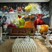 8d 5d Fruits Papel Murals 3d Wall Photo Murals Wallpaper For Dinning Room Kitchen Backdrop 3d