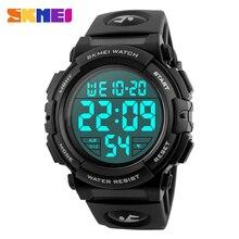 SKMEI Brand Multifunction Digital Watches Men Fashion Outdoor Sports Watch 50M Waterproof Wristwatche Relogio Masculino 1258
