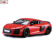 Maisto 1:18 Audi R8 Alloy Retro Car Model Classic Decoration Collection gift