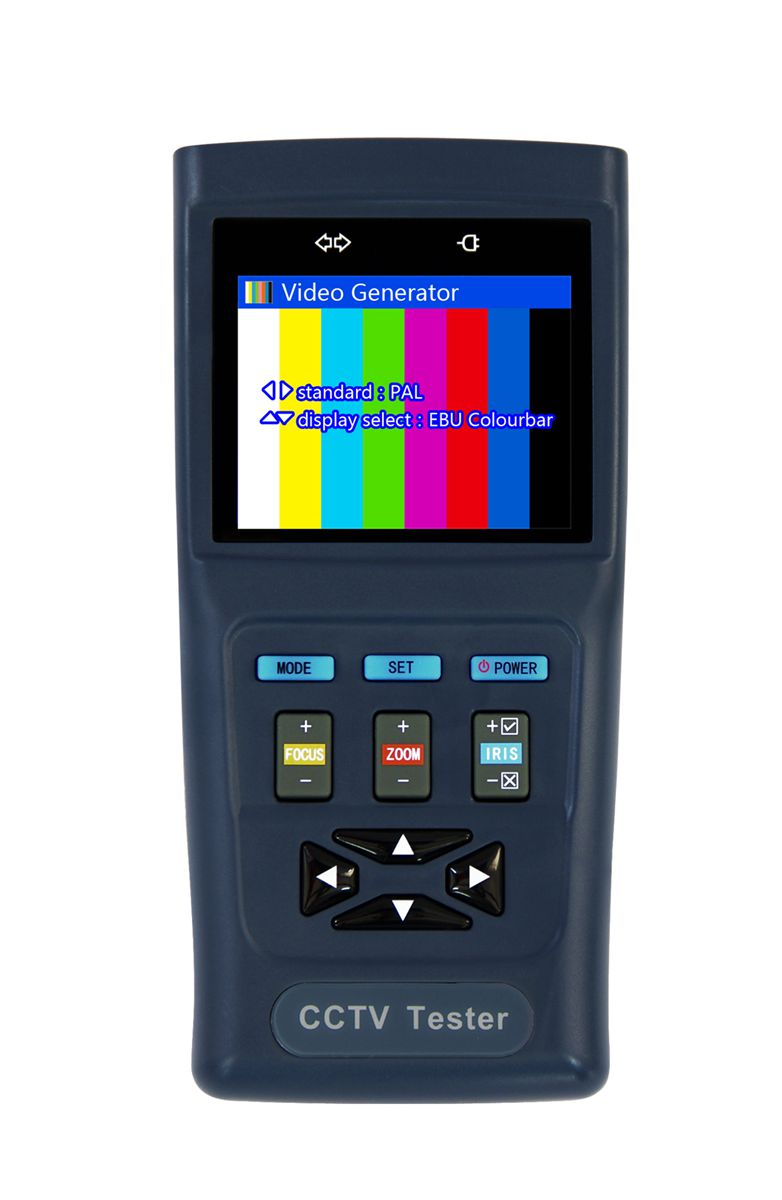 security Tester, CCTV PTZ Security Camera Tester, 2.8 LCD Display, Digital Zoom, 12V 1A Output,Capacity 3000mAh security tester cctv ptz security camera tester 2 8 lcd display digital zoom 12v 1a output capacity 3000mah