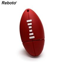 Reboto Pen drive Futebol Americano Rugby Esportes U Disco de 4 GB 8 GB 16  GB 32 GB 64 GB USB Flash Drive Memory Stick Pendrive p. 7a5ab1b0fc239