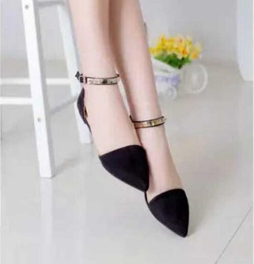 Graceful Mujer Zapatos Planos Ocasionales Primavera Verano Baja con fachada de P