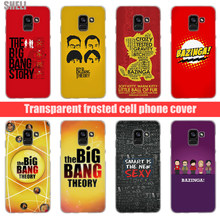 SHELI The Big Bang Theorys Transparent Hard Case for Samsung Galaxy A3 A5 2017 A6 A7 A9 A8 2018 plus A30 A40 Galaxy Note 9 8(China)