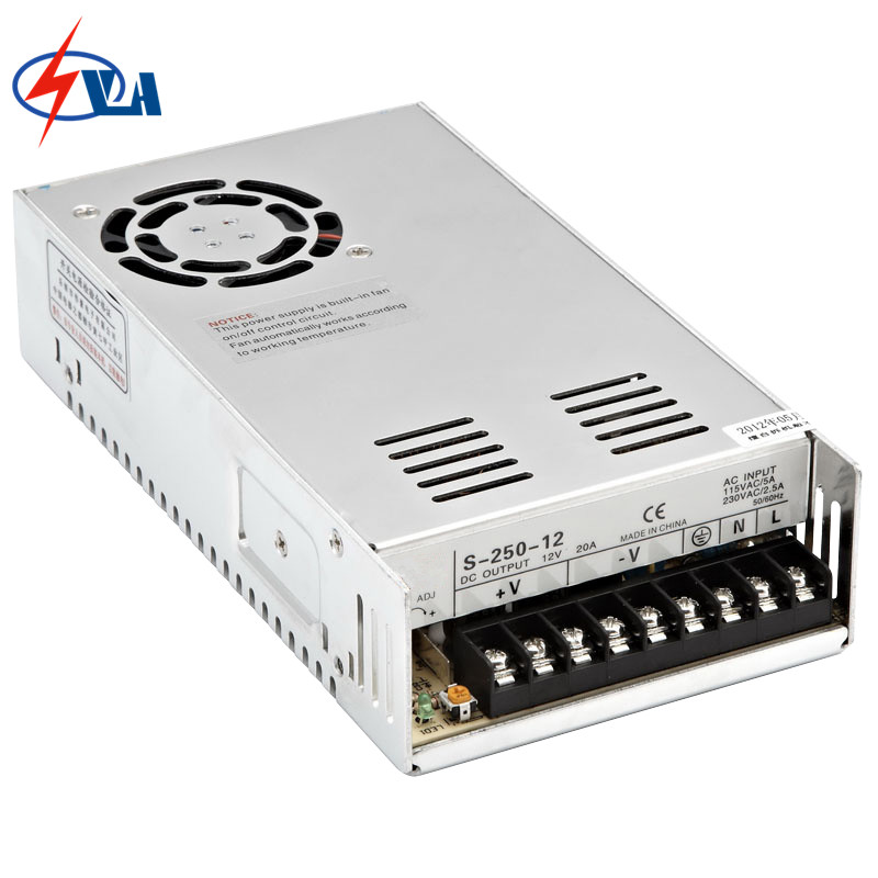 S-250-24 24V 10.4A energy saving DC power supply switching 250W