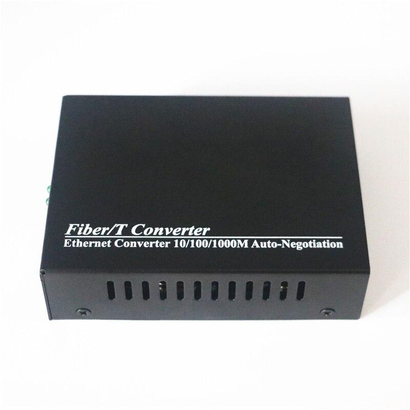 Image 5 - Gigabit Fiber Media Converter 10/100/1000Mbps Multimode Duplex Fiber Wavelength 850nm  SC to RJ45 Optical Transceiver Converter-in Fiber Optic Equipments from Cellphones & Telecommunications