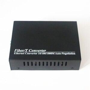 Image 5 - Gigabit Fiber Media Converter 10/100/1000Mbps Multimode Duplex Fiber Wavelength 850nm  SC to RJ45 Optical Transceiver Converter