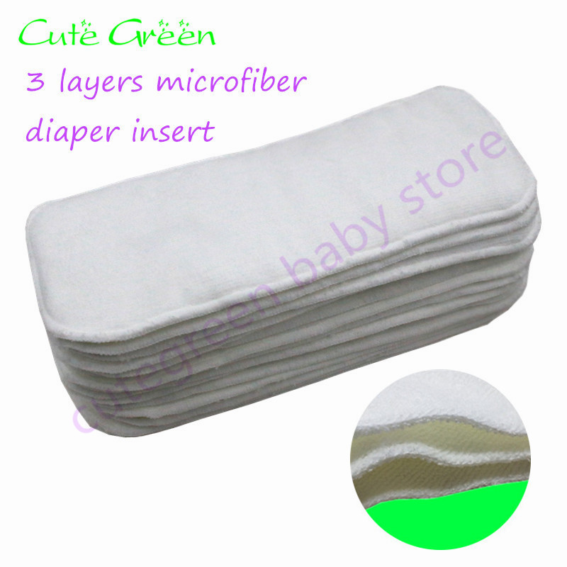 5pcs Bamboo Diaper Insert For Baby Cloth Diapers;reusable Baby Nappies Bamboo Liner;waterproof Washable Diaper Pant Nappy Insert