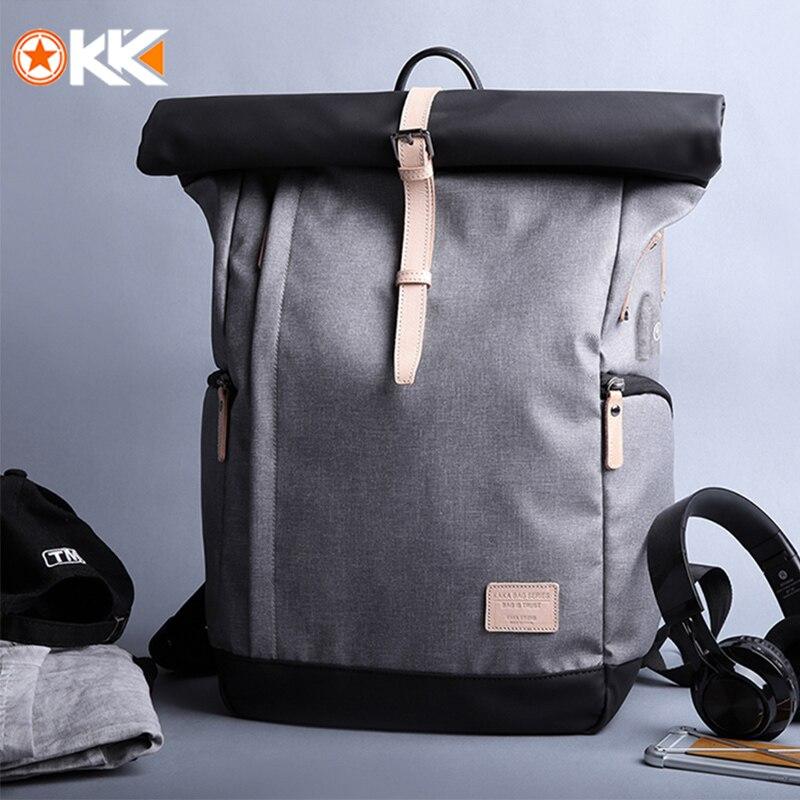 1957.61руб. 50% СКИДКА|KAKA, брендовый мужской женский рюкзак, сумка для колледжа, повседневный Школьный рюкзак, мужская дорожная сумка, 15,6, USB, рюкзаки для ноутбука, Mochila, ранец-in Рюкзаки from Багаж и сумки on AliExpress - 11.11_Double 11_Singles