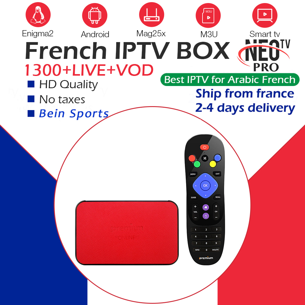 Français IPTV AVOV TVonline + Android TV Box Europe arabe belgique neotv pro IPTV abonnement Streaming adulte intelligent ip tv box