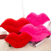 Soft Cushion Lip Shaped Plush Toy Throw Pillow Diy Car Sofa Chair Decorations New China