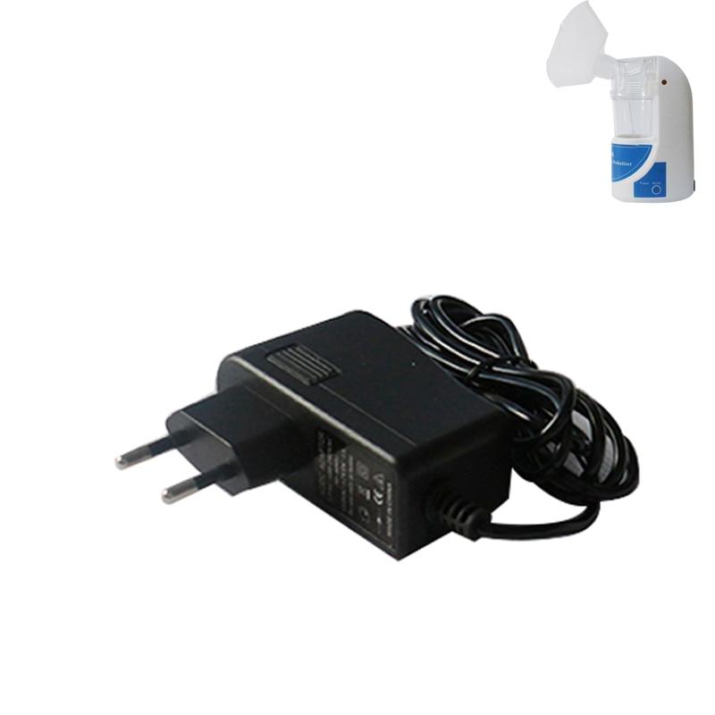 free shipping US/EU plug for handled portable mini nebulizer adaptor 12V 1A adaptor  цена и фото